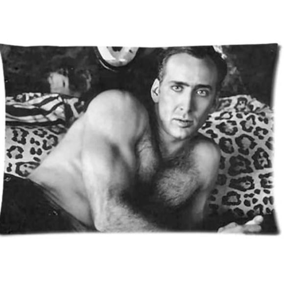 Nicolas Cage Pillowcase